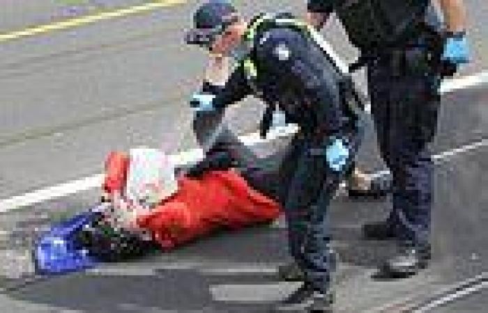 Melbourne anti-lockdown protestor pepper-sprayed by police under investigation