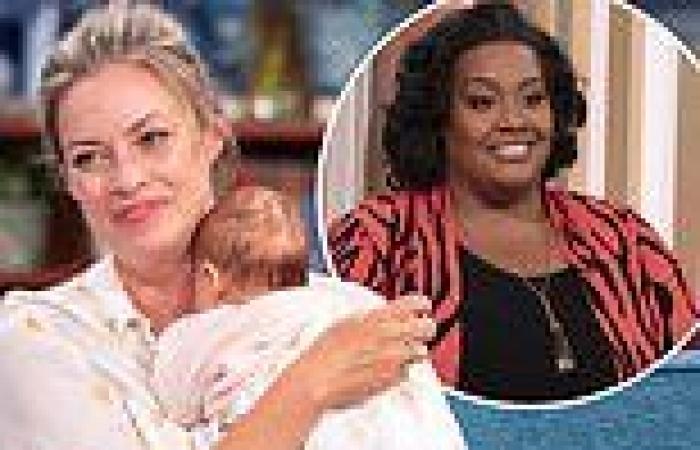 This Morning's Sharon Marshall recalls having a 'massive breakdown' live on air ...