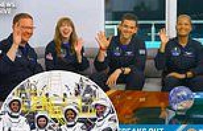 SpaceX's Inspiration4 crew detail 'emotional' mission in first interview since ...