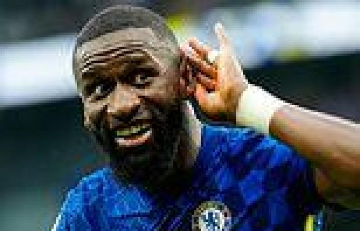 sport news Chelsea's Antonio Rudiger is the BEST centre-back in the Premier League, says ...