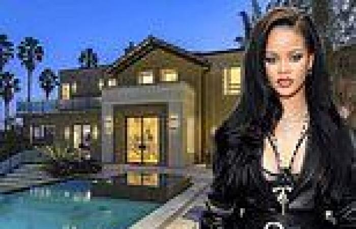 Rihanna puts her three-storey Hollywood Hills on the market AGAIN for $7.8 ...