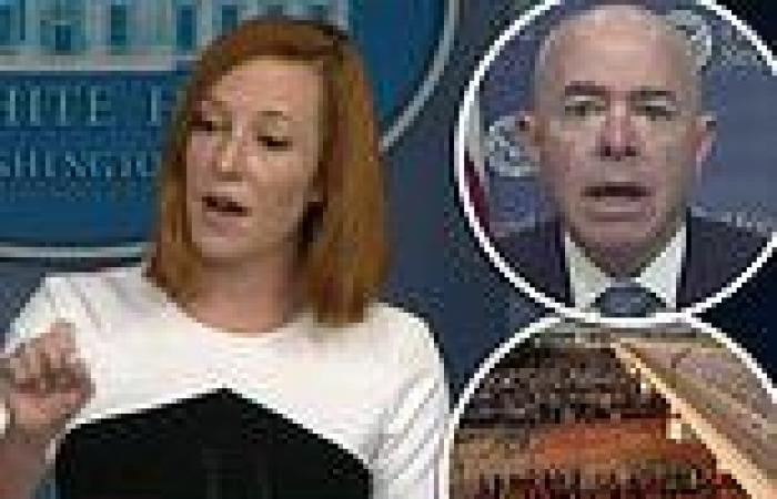 Psaki finally agrees to release the number of Haitian migrants apprehended that ...