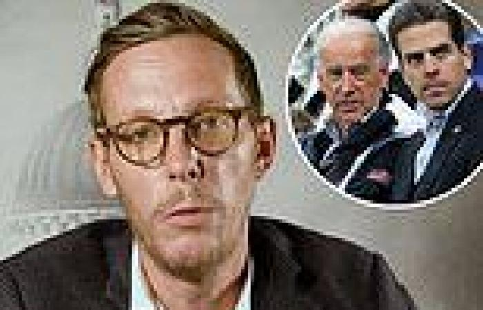 Laurence Fox will play President Biden's son Hunter in upcoming conservative ...