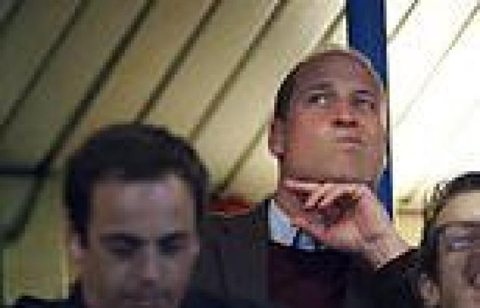 Prince William watches Aston Villa play Chelsea as Prince Philip documentary ...
