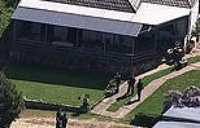 Heavily armed police swarm property in Sandy Creek as couple are charged with ...