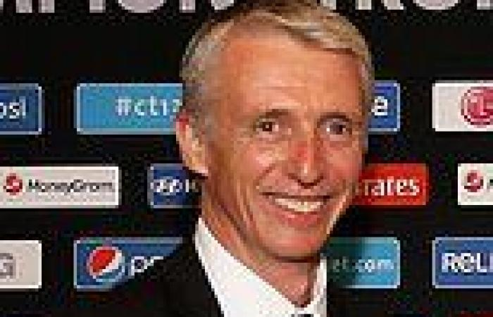 sport news ECB suffer huge blow as director Steve Elworthy leaves post to replace Richard ...