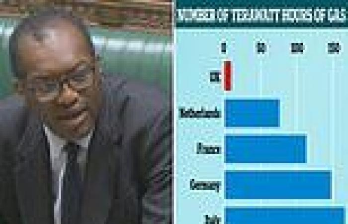 Kwasi Kwateng suggests Britons should hope for warm autumn to ease gas prices