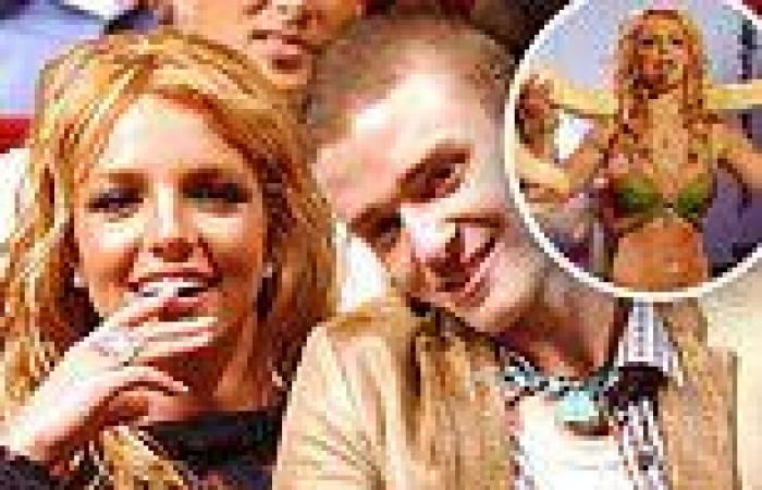 Britney Spears says ex Justin Timberlake gave her a 'pep talk' ahead of her ...
