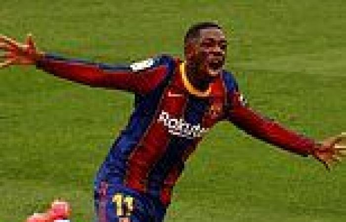 sport news Man United make contact with Ousmane Dembele's agent as Frenchman winds down ...