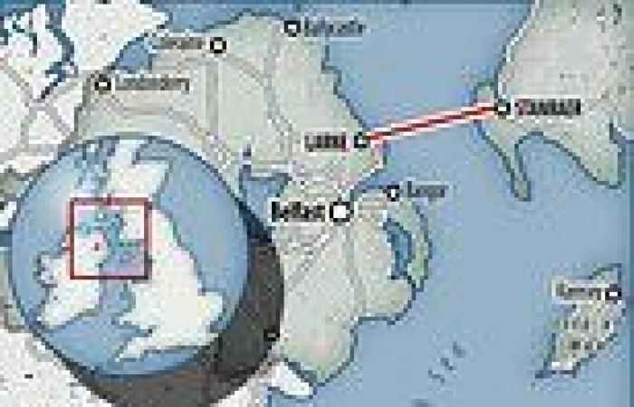 Boris Johnson buries dream of tunnel across Irish Sea after Rishi Sunak ruled ...