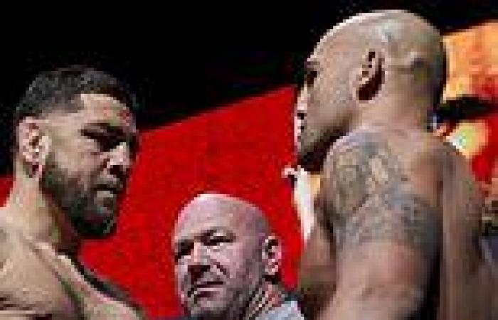 sport news Nick Diaz and Robbie Lawler face off for final time ahead of UFC 266 ...