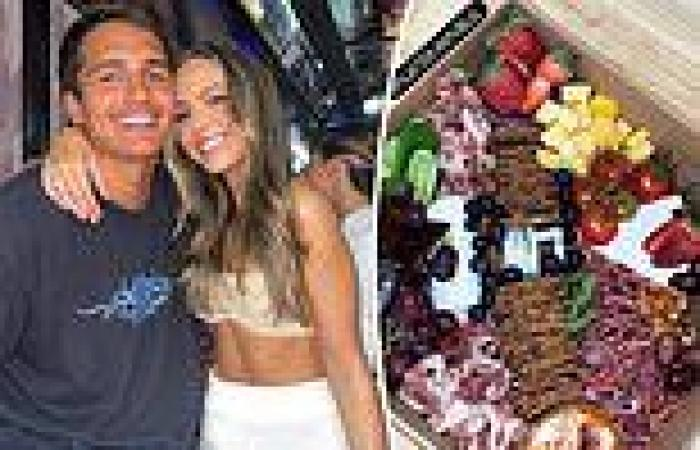 Mia Fevola watching AFL Grand Final at home solo without boyfriend Jamarra ...