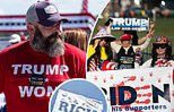 Thousands of  Trump fans arrive for Georgia rally as plane with 'Tax The Rich' ...