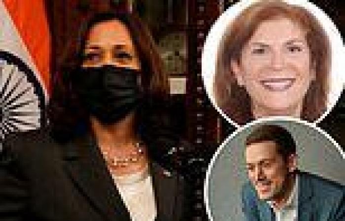 Kamala Harris hires Jen Psaki's brother-in-law Adam Frankel as adviser