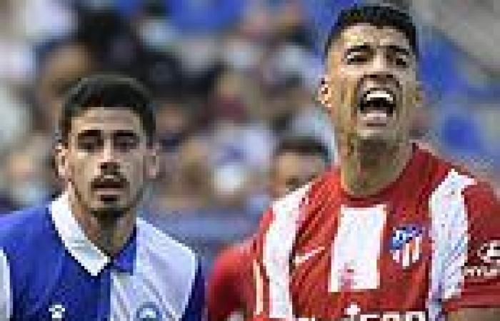 sport news Atletico Madrid slump to shock defeat to plucky Alaves as Diego Simeone feels ...