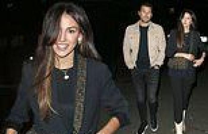Michelle Keegan enjoys dinner with husband Mark Wright after sharing glimpse at ...