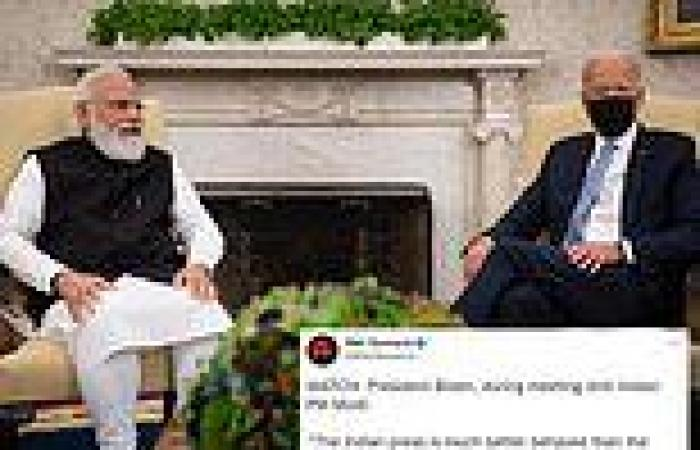 Biden is slammed for saying the Indian press is 'much better behaved' than ...