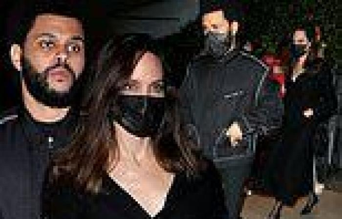 Angelina Jolie and The Weeknd continue fueling dating rumors as they step out ...