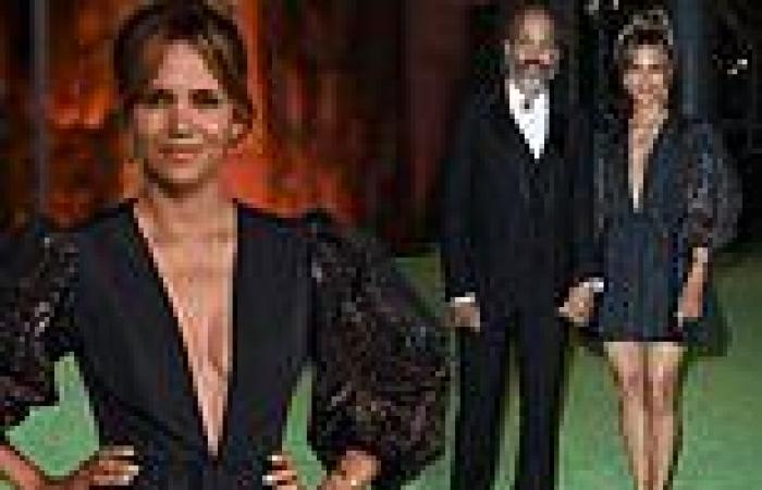Halle Berry and Van Hunt are picture of elegance for Academy Museum of Motion ...