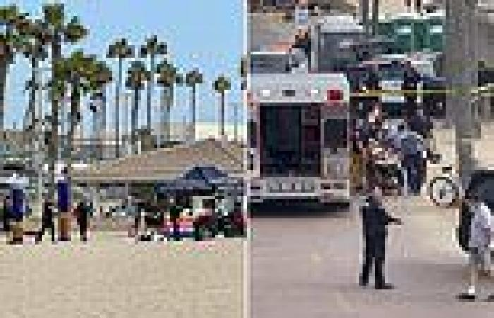 Armed man shot dead by cops who fired at him at point blank range Huntington ...
