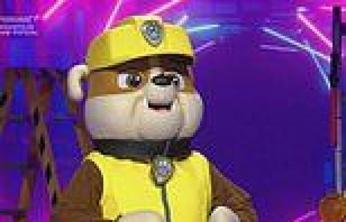 'Celebrity guest' Rubble from Paw Patrol is REVEALED on The Masked Singer ...