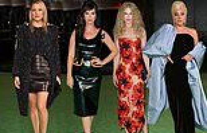 Hollywood's leading ladies turn up the glamour at the Academy Museum of Motion ...