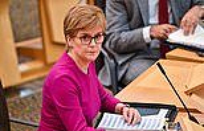 Don't mention the Sturgeon war! Tory ministers 'are ordered not to talk about ...