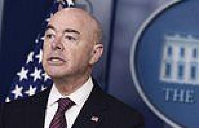 DHS Secretary Alejandro Mayorkas admits 1 in 5 migrants have an 'illness'