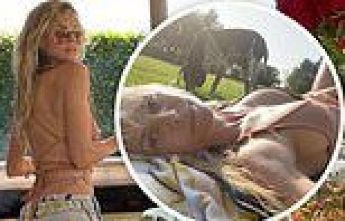 Heidi Klum, 48, serves BBQ and puts on titillating display in sexy selfies ...