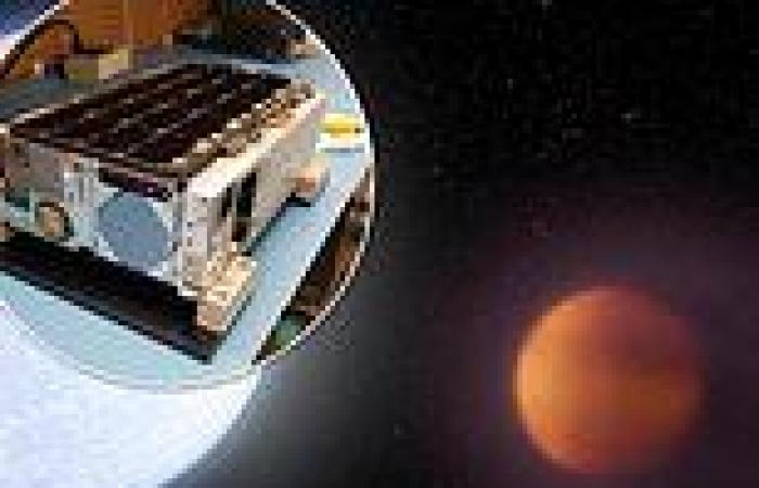 NASA is set to launch a $4million satellite the size of a Cheerios box into ...