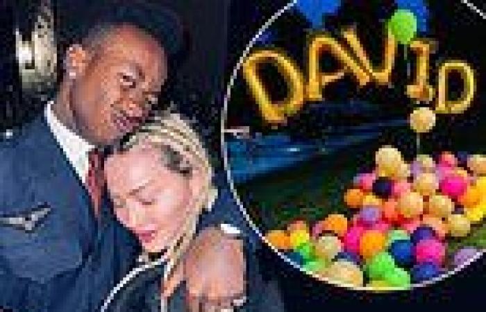 Madonna celebrates her son David Banda's 16th birthday