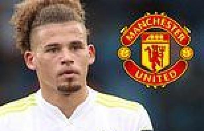 sport news Man United 'lining up a move for Leeds star Kalvin Phillips instead of West ...