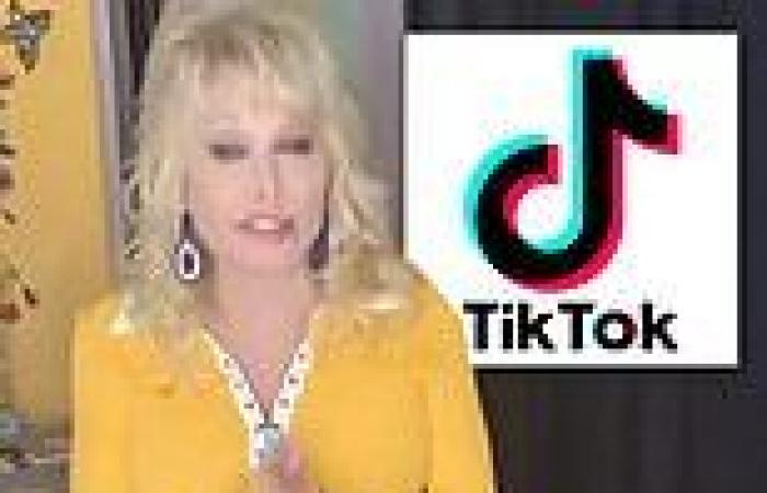 Dolly Parton's new TikTok account was banned by the app after it was revealed ...
