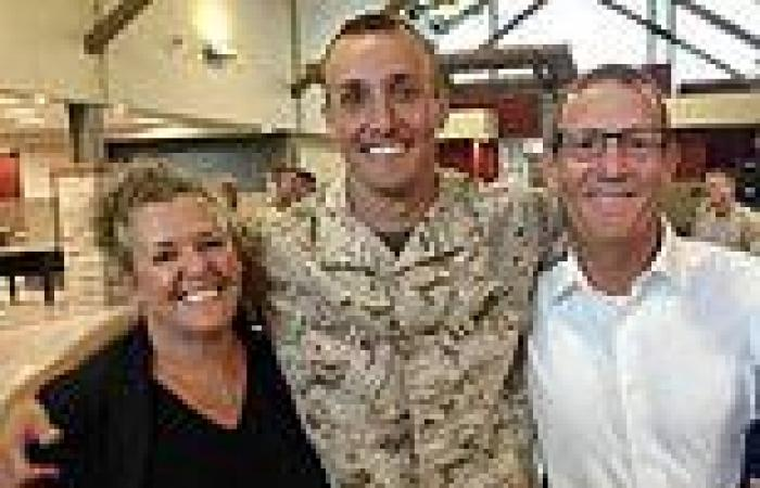 Father reveals US marine son who criticised withdrawal from Afghanistan is in ...