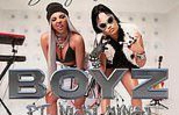 Jesy Nelson shares first promo shot of new solo single Boyz with Nicki Minaj