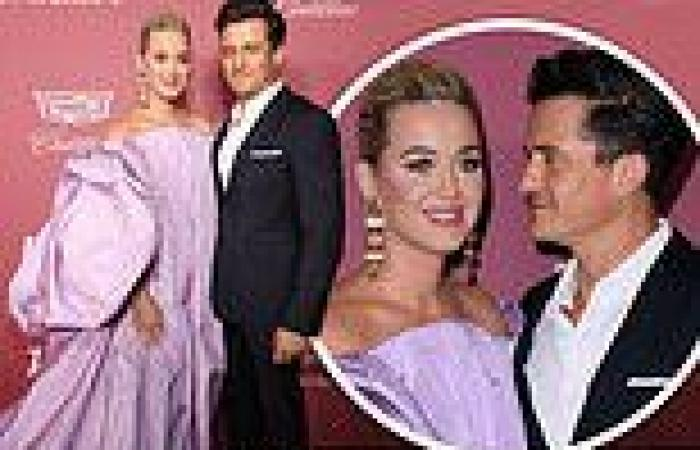 Katy Perry gets an adoring glance from fiance Orlando Bloom at Variety's Power ...
