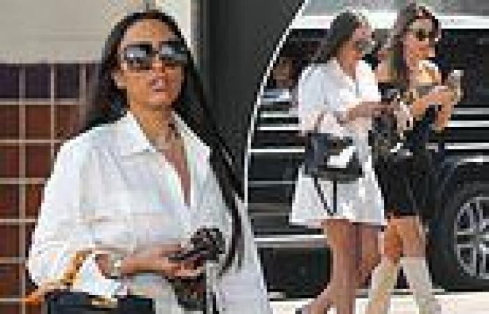 Booby Tape co-founder Bianca Roccisano looks glamorous on a shopping trip in ...