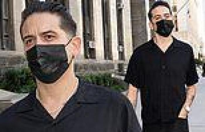 G-Eazy pictured leaving court after being charged with misdemeanor assault ...
