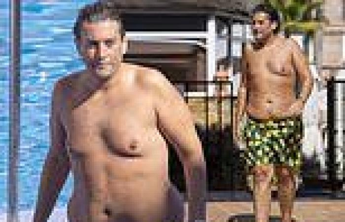 TOWIE's James Argent displays his incredible 8st weight loss