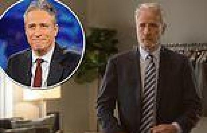 Jon Stewart's new Apple+ show is panned by the critics who brand it 'antiquated ...