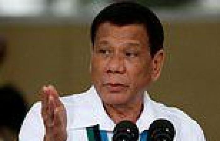 Philippine President Rodrigo Duterte announces he is retiring from politics