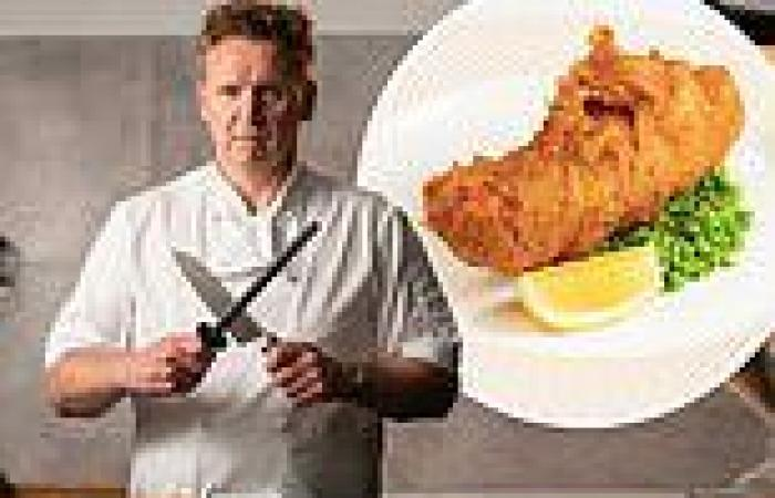 Gordon Ramsay comes under fire for charging a whopping £31 for fish and chips