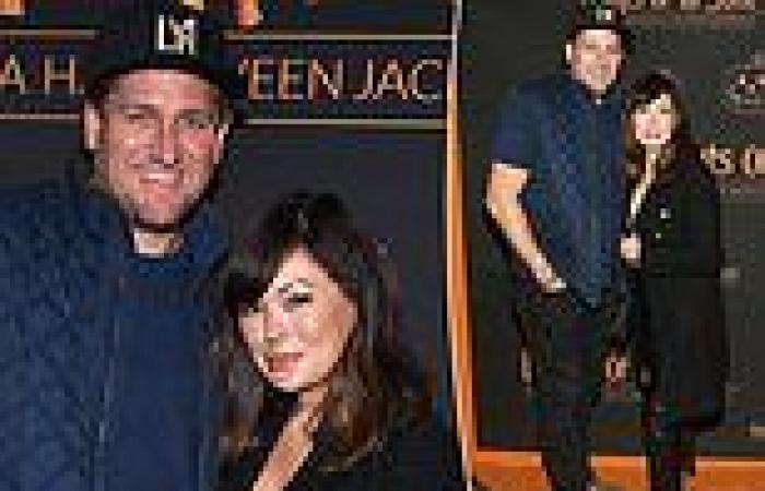 Chef Curtis Stone and wife Lindsay Price attendNight Of The Jack
