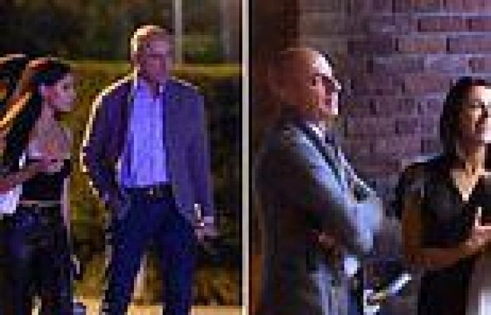 EXC: Matt Lauer seen out for daughter Romy's18th birthday