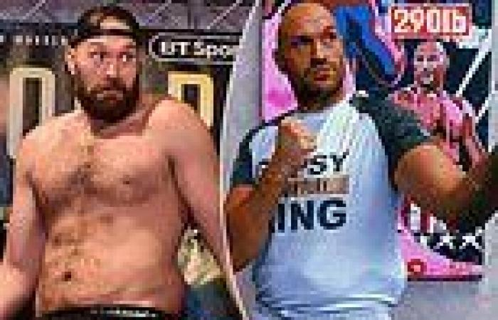 sport news Tyson Fury's trainer says he'll weigh in 20lbs heavier for Deontay Wilder fight