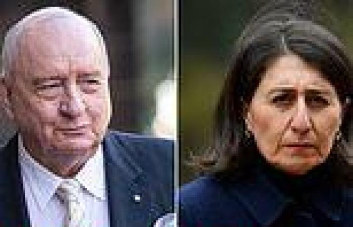 Alan Jones reveals shocking final conversation with Gladys Berejiklian before ...