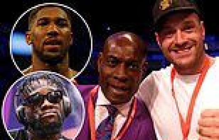 sport news Boxing icon Frank Bruno expects Tyson Fury to beat to beat Deontay Wilder AND ...