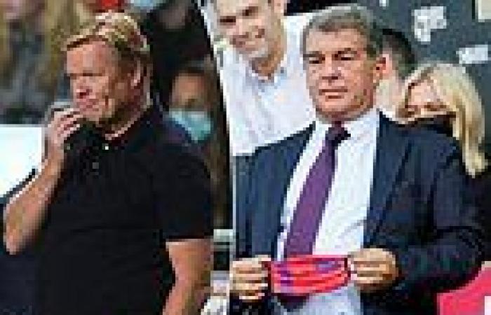 sport news Barcelona suffer €481MILLION loss for last season