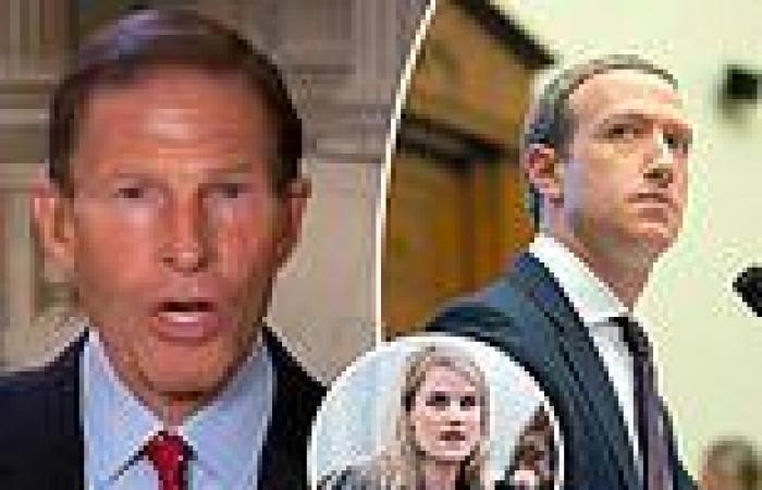 Democratic Senator Richard Blumenthal demands Facebook CEO appear in Congress