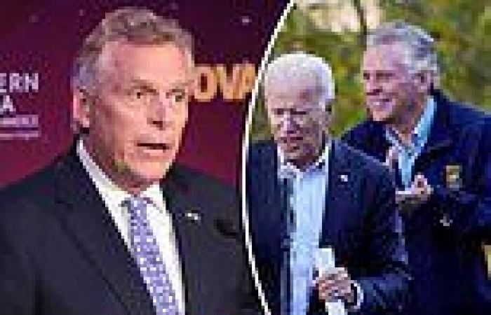Virginia Gov. McAuliffe admits Biden is 'unpopular' ahead of crucial bellwether ...